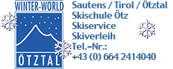 Winter-World Skiverleih Skiservice Skischule Homepage logo